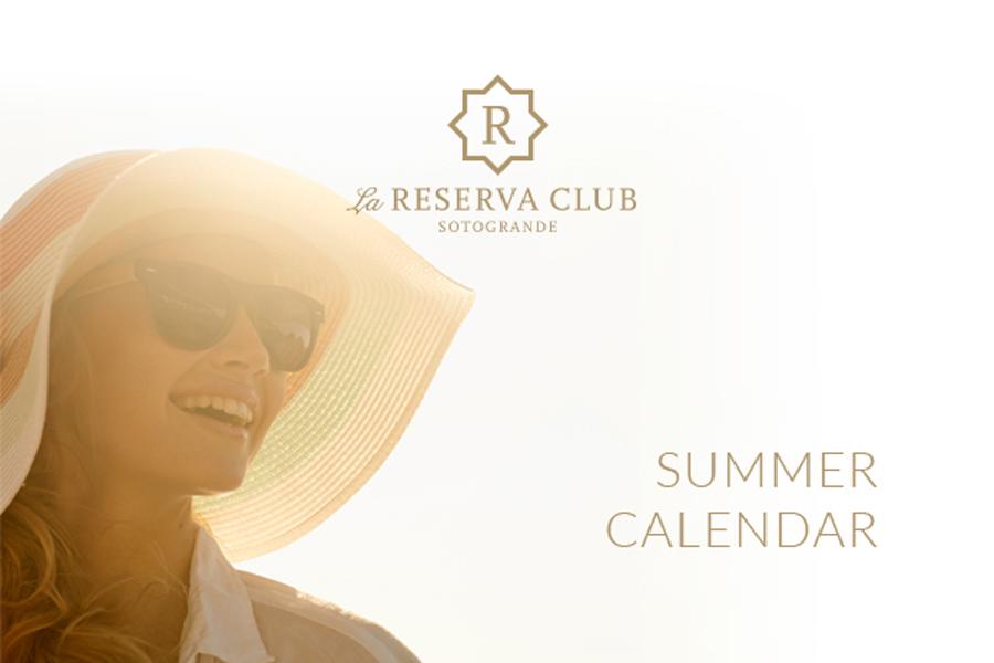 La Reserva Summer Calendar
