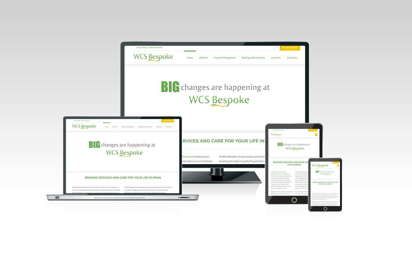 New WCS Bespoke website now Live